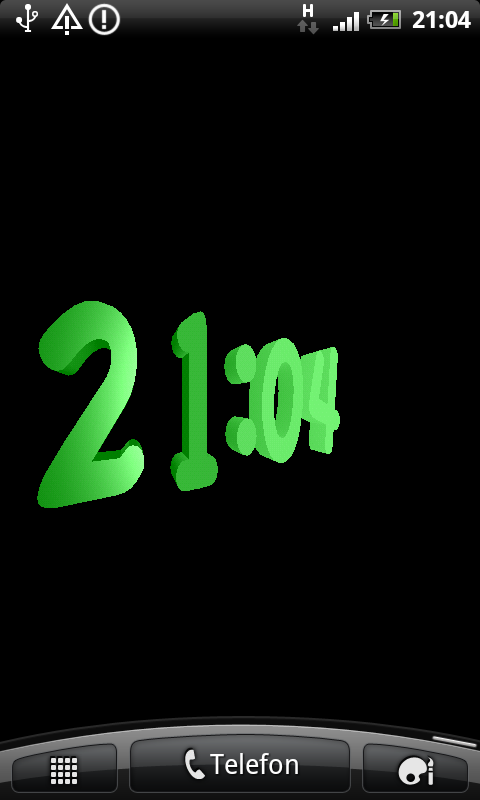 Funny clock 3d screensaver software informer animated 3d pictures