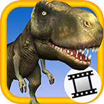 Dinosaur Video Snap - Take a Picture of you and an animated Dinosaur!